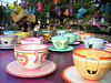 Mad Hatter's tea party ride